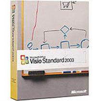 微软 Visio 2003 中文标准版产品图片主图