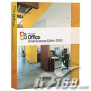 微软 Office Small Business Edition 2003 英文版(COEM)
