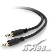贝尔金 通用迷你立体声音频线(1.8米,3.5毫米头/3.5毫米头)