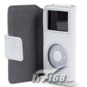 贝尔金 iPod nano NE翻盖时尚皮套(白色F8Z058zhWHT)