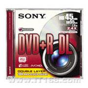 索尼 8厘米DVD可录式光盘(DPR55DLS1)