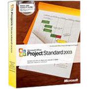 微软 Project 2003 英文标准版