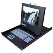 FeiLan 15英寸lcd kvm折叠液晶套件(LCD-3-15)