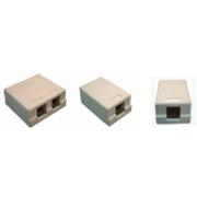 诺康 桌面安装盒单孔(ROK-UB-1)