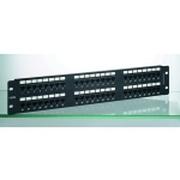 诺康 48口非屏蔽配线架/后置理线器(ROK-UP5e-48)