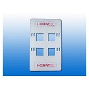 HOSIWELL 四口面板(20024-WH)