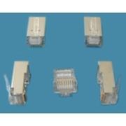 威图 五类/超五类RJ45屏蔽水晶头