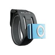 贝尔金 iPod shuffle腕臂两用运动带(黑色)