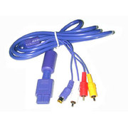 GBalpha GC S-Video & AV Cable(GC S端子和AV端子视频线)