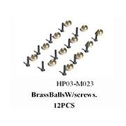 黑鹰 铜球头A组(450配件)HP03-M023