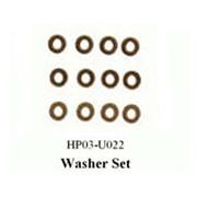 黑鹰 铜垫片(∮4×∮2×0.4)(450配件)HP03-U022
