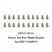 黑鹰 侧板螺丝D组(450配件)HP05-M018
