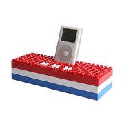 无品牌产品 积木外形 iPod底座音箱