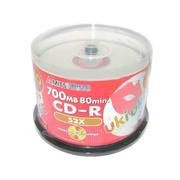三菱 红唇白金 CD-R 52速(50片装)