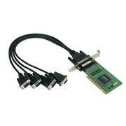 MOXA CP-104UL-DB9 V2(4串口RS-232,DB9针式电源)