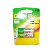 GP超霸 2粒1800毫安时5号充电电池