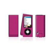 贝尔金 ipod nano5代翻盖牛皮套(粉红色)F8Z510qePNK