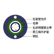WINFIBER 4芯室外铠装多模光缆(WF-GYXTW-4A1a)