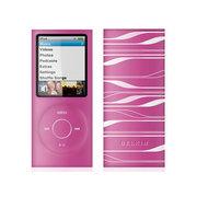 贝尔金 iPod nano 4G激光图纹硅胶套(粉白)F8Z379zhPTW