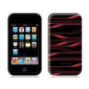 贝尔金 iPod Touch 2G激光图纹硅胶套(黑红)F8Z364zhBKI