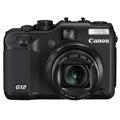 佳能 G12 数码相机 黑色(1000万像素 2.8英寸可旋转液晶屏 5倍光学变焦 28mm广角)