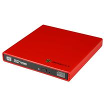 闪辉 外置DVD-RW刻录机(法兰红)钢琴漆产品图片主图