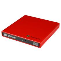 闪辉 外置DVD-RW刻录机(法兰红)亚光漆产品图片主图