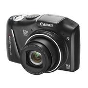 佳能 SX150 IS 数码相机 黑色(1410万像素 3英寸液晶屏 12倍光学变焦 28mm广角)
