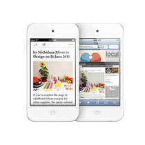 苹果 iPod touch4 白色(8G)产品图片主图