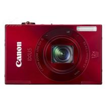 佳能 IXUS500 HS 数码相机 红色(1010万像素 3英寸液晶屏 12倍光学变焦 28mm广角)产品图片主图