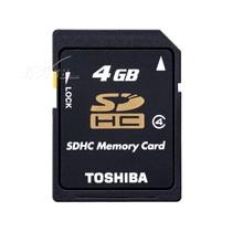 东芝 Memory SDHC卡 Class4(4G)/SD-K04GR7W4产品图片主图