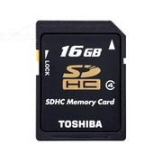 东芝 Memory SDHC卡 Class4(16G)/SD-K16GR7W4