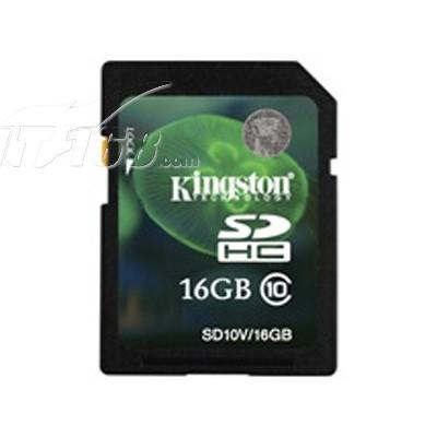 金士顿 SDHC卡 Class10(16GB)SD10V/16G产品图片1