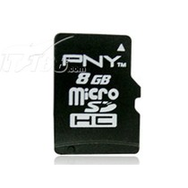 PNY Micro SDHC/TF卡 Class4(8GB)产品图片主图