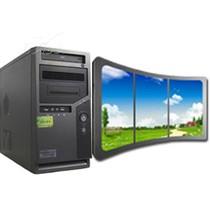 康自由 三屏电脑工作站 四核 上将3产品图片主图