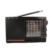 熊猫 6160高灵敏度十二波段二次变频立体声收音机