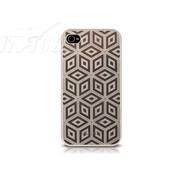 ODOYO iPhone 4/4S 金属系列保护套-立方体款