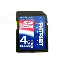 PATRiOT SDHC Class4(4GB)产品图片主图