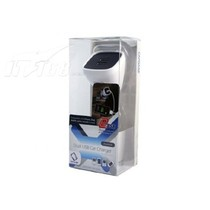 卡登仕 双USB万能车充头产品图片主图