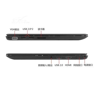 神舟 飞天UI43B D0 14英寸超极本(i3-3217U/4G/64G SSD/DOS/黑)产品图片4