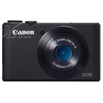佳能 S110 数码相机 黑色(1210万像素 3英寸触摸屏 5倍光学变焦 24mm广角)产品图片主图