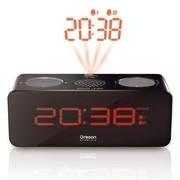 欧西亚 RRA320PN 带收音机时间投影显示器(黑色)