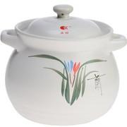 康舒 13号4.3L耐热陶瓷土锅砂煲 白色