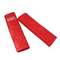 WRC 汽车安全带护套 护垫 超柔软纤皮材质 红色产品图片主图