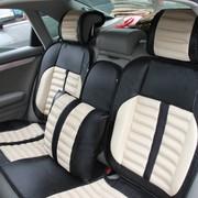 WRC 汽车抱枕 睡枕 内含决明子 奢华碳纤风格 米色