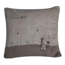 爱车屋 米汤(T-111D-2)舒适抱枕(深灰+浅灰)可爱抱枕 靠垫靠枕产品图片主图