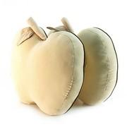 爱车屋 苹果抱枕(杏色)