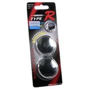 TYPER TR-214 360度可旋转小圆镜1.5寸去盲点 广角 银