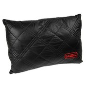 WRC 汽车靠垫 腰枕 腰靠 超柔软纤皮材质 A款黑色