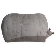 爱车屋 米汤(T-009D)舒适腰枕(深灰+浅灰)